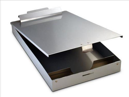 """Picture of REDI-RITE ALUMINUM HOLDER FORM SIZE: 8-1/2"""" x 12"""";1-1/2"""" DEEP; WITH CALCULATOR"""