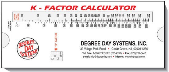 Picture of K-Factor Calculator