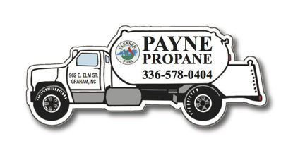 Picture of Propane Truck Magnet